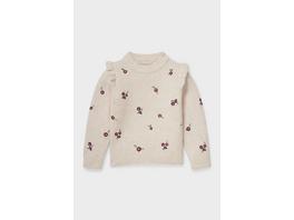 Pullover - geblümt