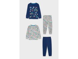 Multipack 2er - Dino - Pyjama