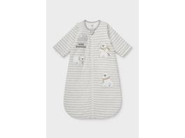Baby-Schlafsack - gestreift