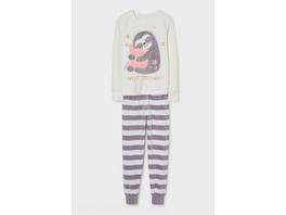 Pyjama - Glanz-Effekt - 2 teilig