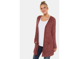 Gina Laura Cardigan, Chenille, offene Form, Langarm