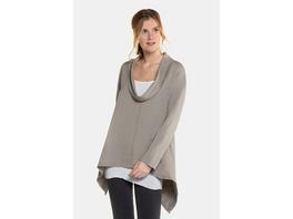 Gina Laura Sweatshirt mit Top, oversized, weiter Rollkragen