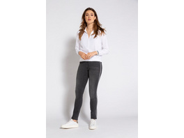 Gina Laura Jeans Julia Identity, 5-Pocket, Galon-Bänder